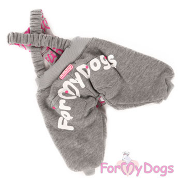 Вяжем штанишки собаке