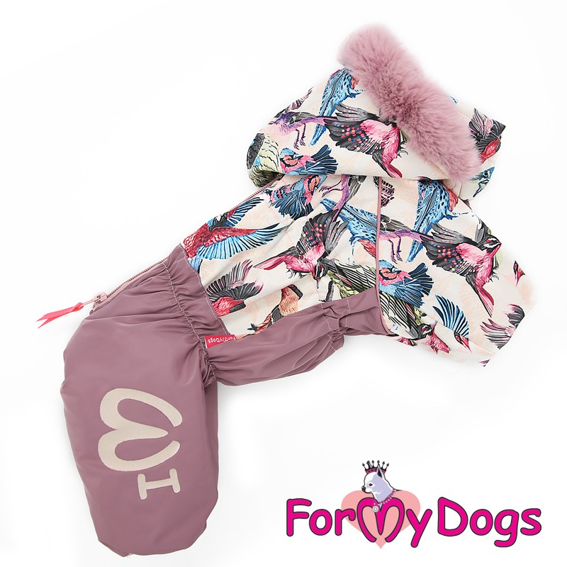 Комбинезон зимний для маленьких собак