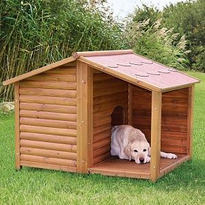 Trixie Natura Будка для собак с террасой (39512) .