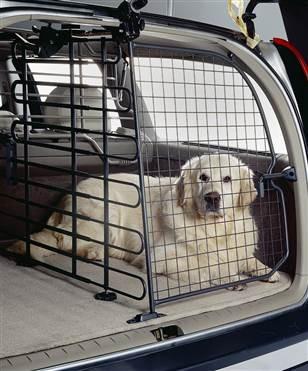 Автомобильные перегородки и сетки на окна для собак